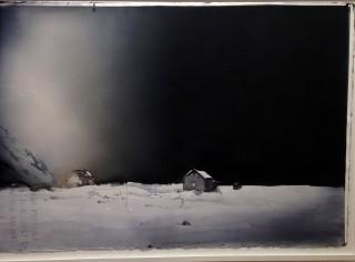 Lars Lerin, Sandgrund.